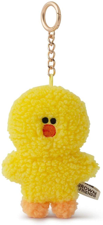 莎莉鸡 茸茸钥匙链