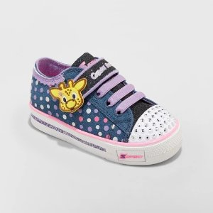 66a7d53c82eb0 Toddler Girls  S Sport by Skechers Glimmer Stars Light up Sneakers