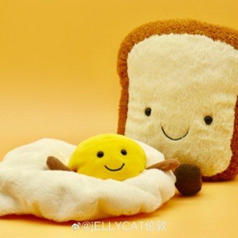 小吐司玩偶、仙人掌玩偶都有上新:Jellycat  柠檬精抱枕回货 李宇春同款西瓜有货