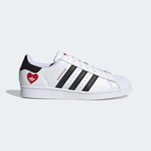 Adidassuperstar情人节限定款