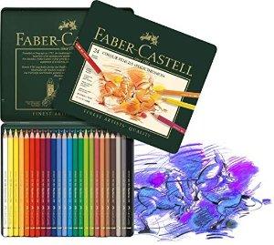 Faber-Castell 24色艺术家彩色铅笔