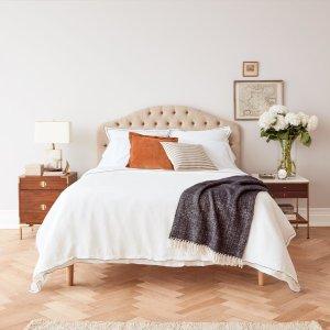 床垫5折、床品低至4折 + 额外6.5折11.11独家:Allswell 爆款记忆棉弹簧硬床垫及设计师床品热卖