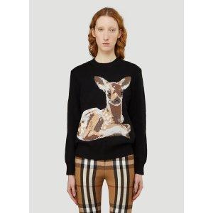 Burberry小鹿针织衫