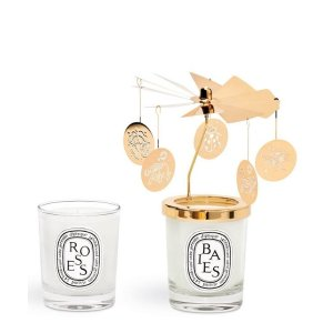 Diptyque75g Candle and Carousel Set