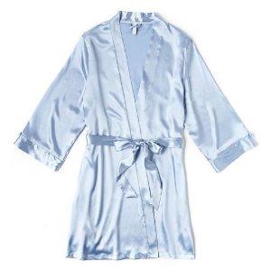 I.E.I. Lingerien女士睡袍,L码婴儿蓝色