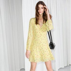 2.7折起 £29收粉色小裙子& Other Stories 彩色小裙子专场 春夏最亮眼色彩就是你