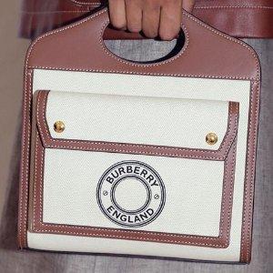 无门槛8折 封面多色PocketBurberry 时髦单品专场 链条包仅$480、墨镜$216