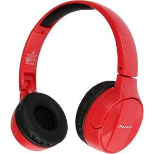 $38.99Pioneer SE-MJ553BT-R Over-Ear Wireless Stereo Headphones (Red)