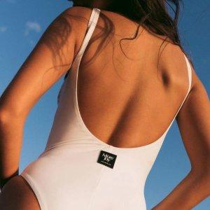 低至3折 Zimmermann$342Farfetch 沙滩专场 海风清凉超出片 抄底价收泳衣、比基尼
