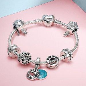 低至3折Pandora 大促区 美貌首饰热促 超过新款串珠加入