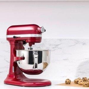 最高直降$280最后一天:Best Buy 厨用小家电热卖 Kitchenaid经典立式搅拌机$269.99