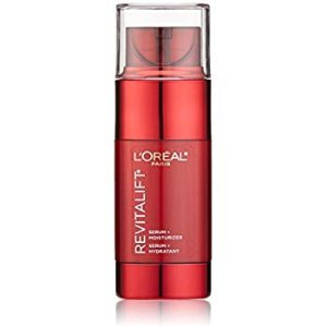 L'Oréal Paris Skincare Revitalift Triple Power Intensive Skin Revitalizer, Face Moisturizer + Serum with Vitamin C and Pro-Xylane for Fine Lines and Wrinkles, 1.6 fl. oz @ Amazon.com