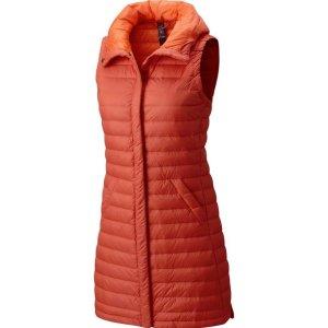 $65(原价$185)+包邮Mountain Hardwear 女款鸭绒马甲折上折, 超级保暖款