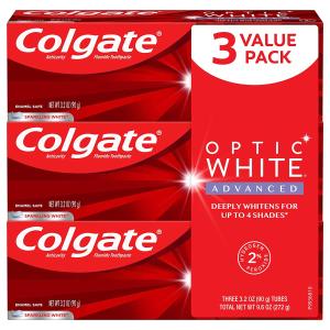 Colgate 高露洁高效美白牙膏 3.2oz 3只装
