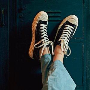 EXCELSIOR 黑白低帮帆布鞋