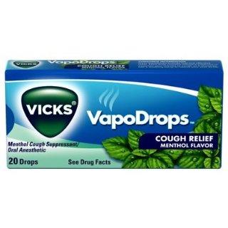 $0.98Vicks Vapodrops Cough Relief Menthol Flavored Drops