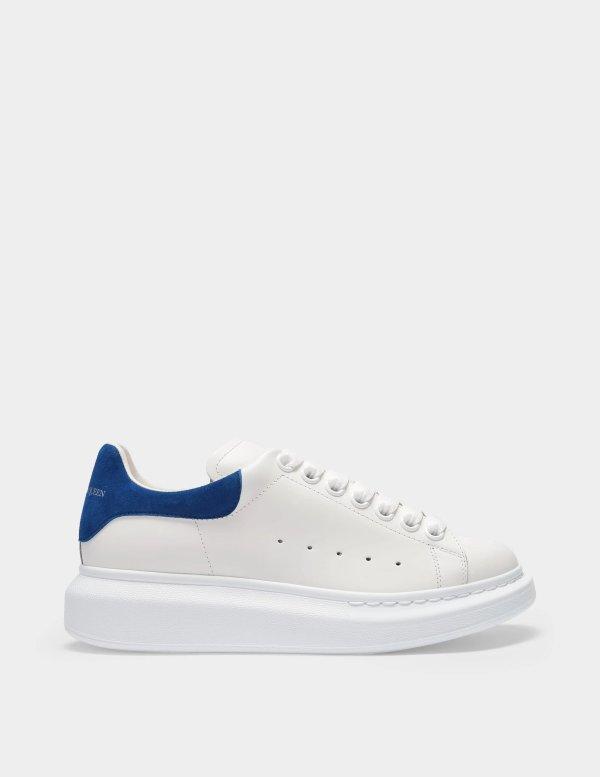 蓝尾小白鞋
