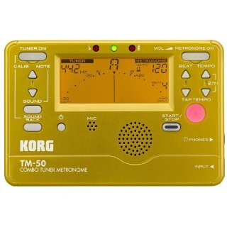 $14.99Korg TM-50 电子调音器 + 节拍器 二合一产品 双色可选