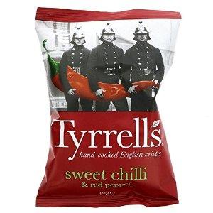 TYRRELLS甜辣味16包 x 40g