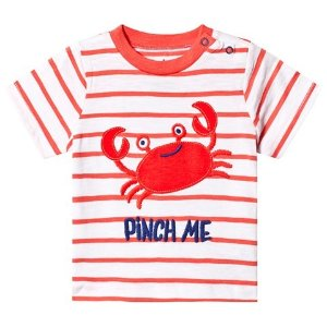 HatleyOrange Silly Crustacean Baby T-Shirt | AlexandAlexa