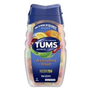 TUMS 止酸钙片, 750, 96片