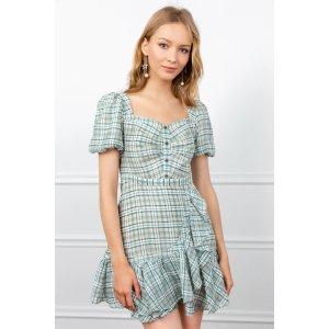 Plaid Picnic 连衣裙