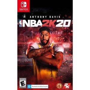 NBA 2K20 Switch 实体版