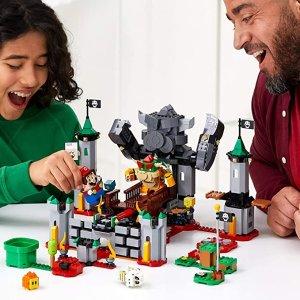 Lego史低!获2021 TOTY玩具大奖超级玛丽 库巴城堡大战扩展关卡 1010块积木
