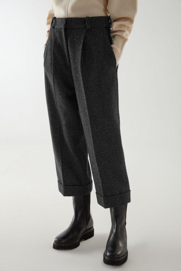 羊毛休闲裤