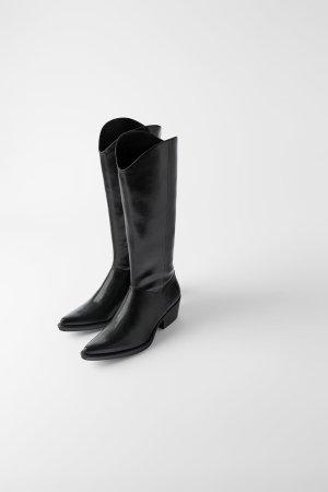Zara 西部靴
