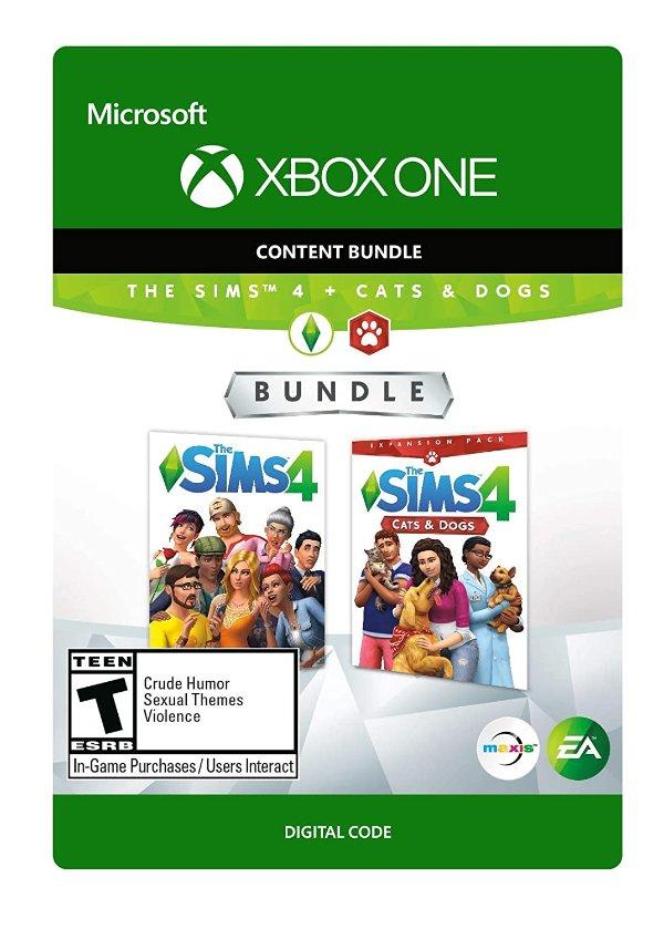 The Sims 4 模拟人生4 + 猫狗总动员 扩展包 Xbox One 数字版