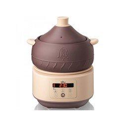 家用多功能电汽锅 天然陶瓷蒸馏烹制 3L 塔吉士微压烹饪 桑拿嫩蒸