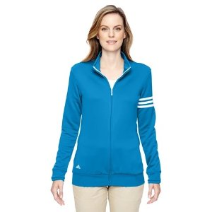 adidas Women's Climalite 3-Stripe Full Zip Jacket