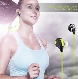 $16(原价$39.99)AUKEY运动防汗4.1蓝牙立体声耳机 - 3色