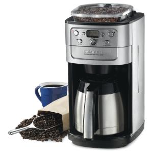 $174.99(原价$219.99)Cuisinart DGB-900BCC 全自动可编程咖啡机特卖