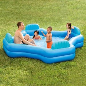 $39.97Intex Inflatable Swim Center Family Lounge Pool, 105