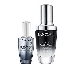 Lancome Genifique Serum and Light Pearl Set