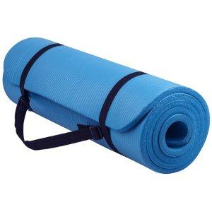 $12.99(原价$20)Everyday Essentials 家用健身瑜伽垫 1/2寸厚度
