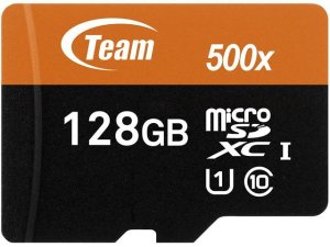 Team 十铨 Xtreem 128GB microSDXC UHS-1 500x 高速存储卡