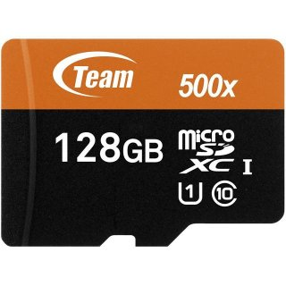Team 128GB microSDXC Memory Card