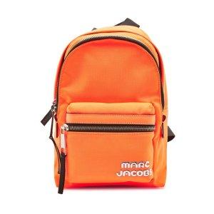 Marc Jacobs橘色mini双肩包