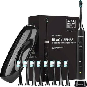 AquaSonic Vibe Series Rechargeable Electric Toothbrush