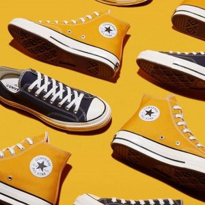 $90起 定价优势,姜黄色有货Converse 匡威帆布鞋热卖 70s系列经典码全、特别款上新