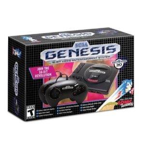 $39.99 (原价$79.99)Sega Genesis Mini 情怀复刻, 内含40款世嘉经典游戏