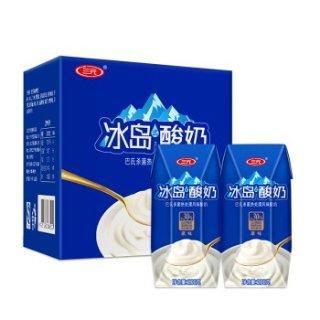 秒杀价¥59三元 冰岛式常温酸牛奶200g*24盒