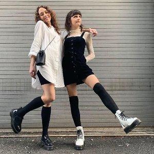 新人8.5折+免邮 $102起Dr.Martens 时髦马丁靴专场,今秋超火的厚底款也有
