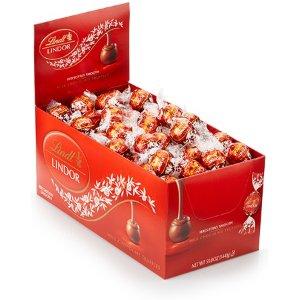 LindtMilk Chocolate LINDOR Truffles Box (120-pc, 50.8 oz)