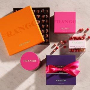 Frango 精选巧克力礼盒热卖,多种口味可选