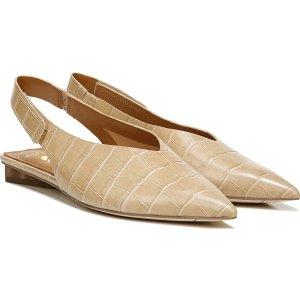 Franco SartoSarto Grayson 鳄鱼压纹平底鞋