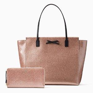 kate spade Mavis Street Taden Tote Bag Wallet Bundles on Sale
